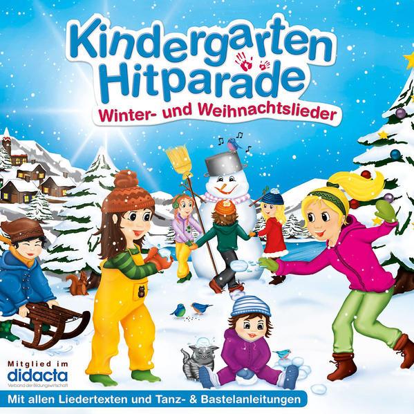 Die Kindergarten Hitparade - 03: Winter- und Weihnachtslieder - Coverbild