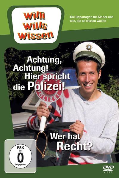 Achtung, Achtung! Hier spricht die Polizei!/ Wer hat Recht? - Coverbild