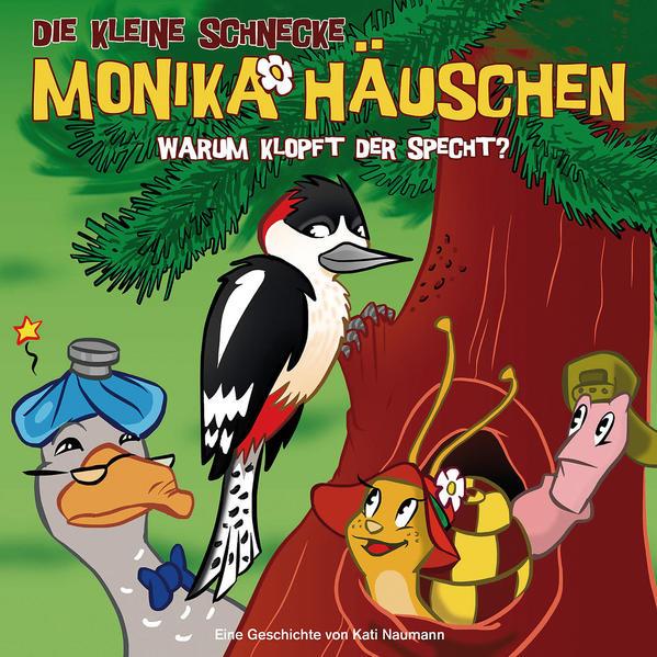 Die kleine Schnecke Monika Häuschen - CD / 26: Warum klopft der Specht? - Coverbild