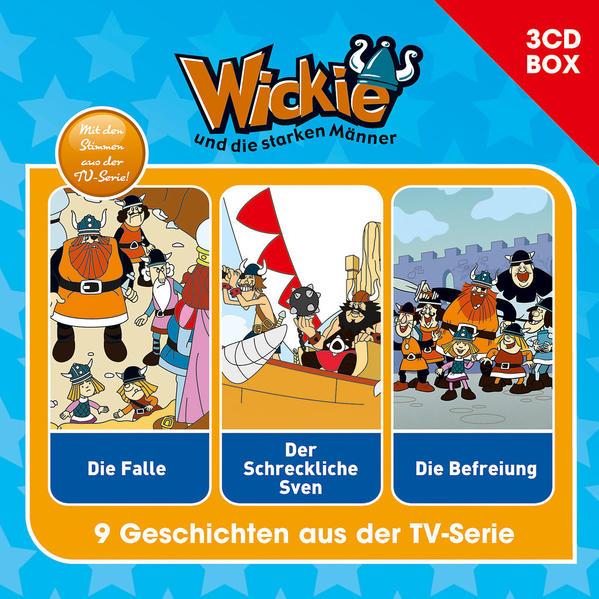 Wickie (Classic) / Wickie (Classic) - 3CD Hörspielbox Vol. 1 - Coverbild