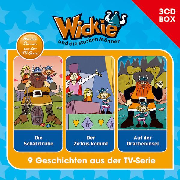 Wickie (Classic) / Wickie (Classic) - 3CD Hörspielbox Vol. 4 - Coverbild