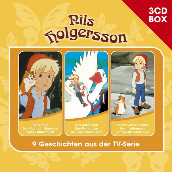 Nils Holgersson / Nils Holgersson - 3CD Hörspielbox Vol. 2 - Coverbild