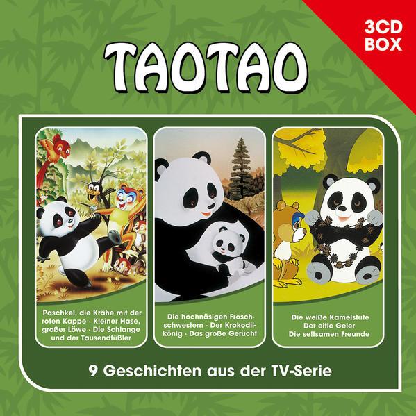 Tao Tao - 3CD Hörspielbox - Coverbild