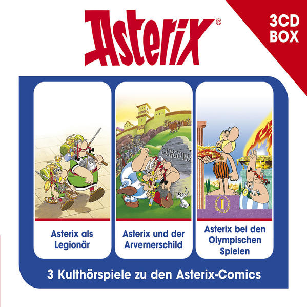 Asterix - Hörspielbox Vol. 4 - Coverbild