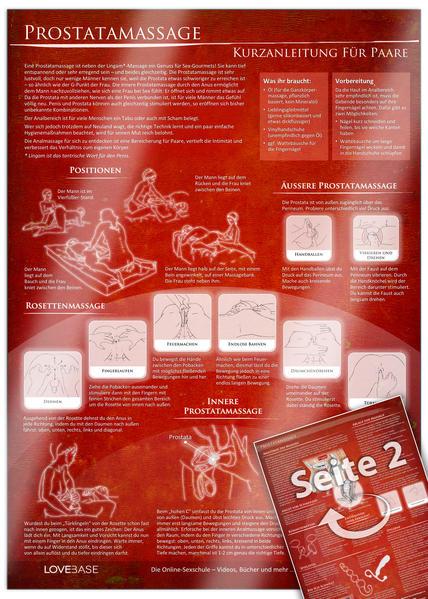 Anal- und Prostatamassage - Kurzanleitung (2016) - Massage-Techniken für die Tantramassage und mehr Genuss beim Sex - Coverbild
