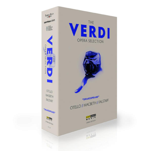 The Verdi Opera Selection - Coverbild