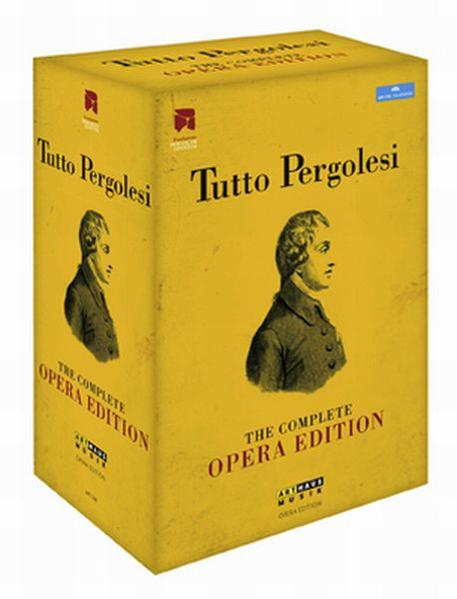Tutto Pergolesi - Coverbild