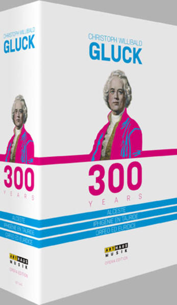 Christoph Willibald Gluck – 300 years - Coverbild