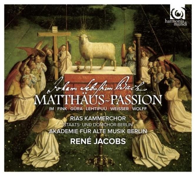 Matthäus-Passion - Coverbild