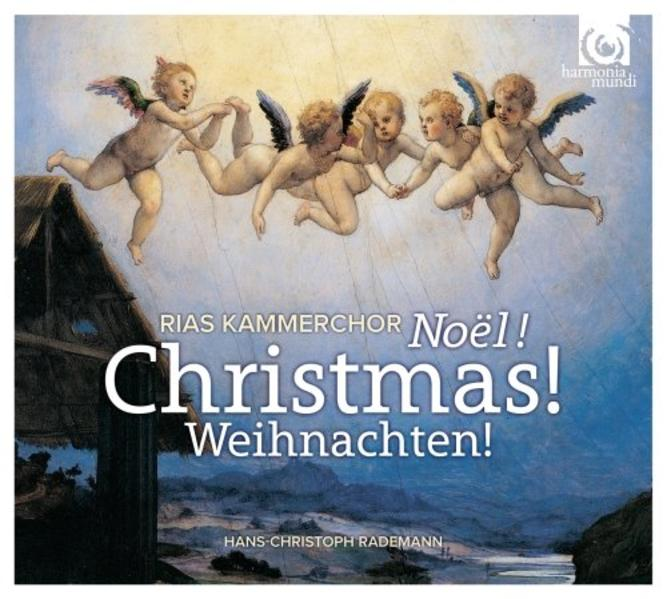 RIAS Kammerchor - Weihnachten! - Coverbild