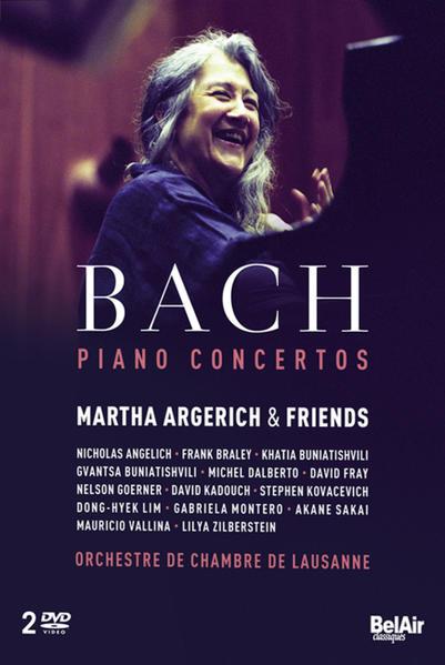 Martha Argerich & Freunde - Klavierkonzerte, 2 DVDs - Coverbild