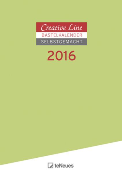 Bastelkalender 2016 selbstgemacht A4 - Coverbild