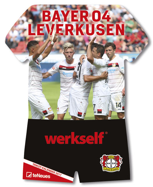 Bayer 04 Leverkusen, Trikotkalender 2017 - Coverbild