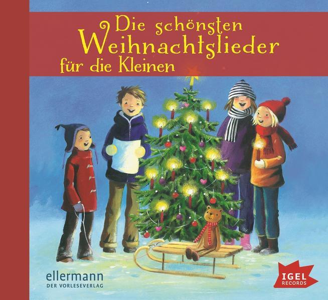 Die schönsten Weihnachtslieder für die Kleinen - Coverbild