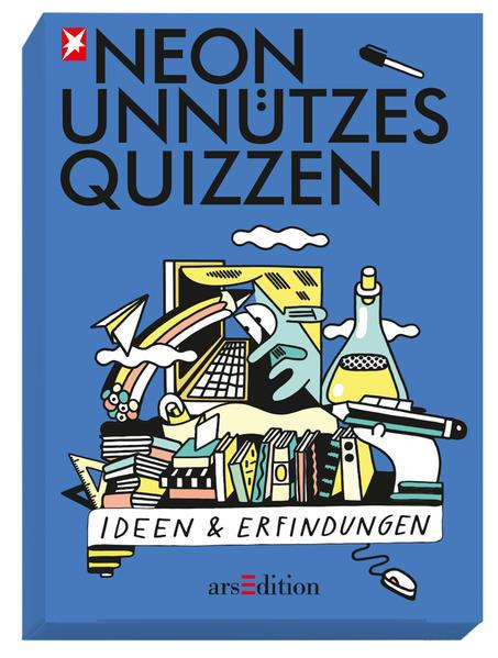 NEON Unnützes Quizzen: Ideen & Erfindungen - Coverbild