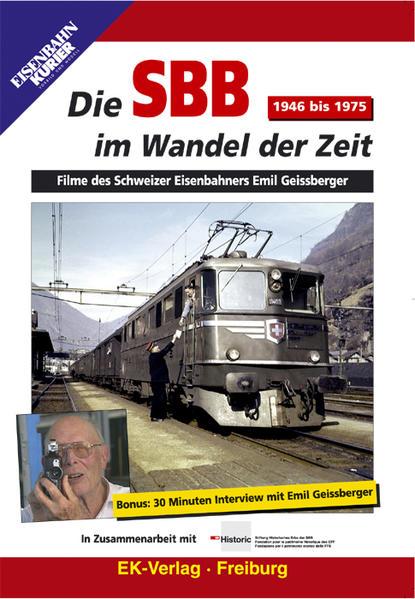 Die SBB im Wandel der Zeit - 1946 bis 1975 - Coverbild