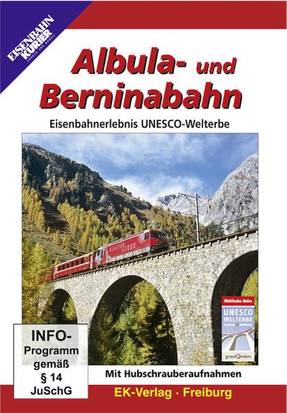 Albula- und Berninabahn - Coverbild