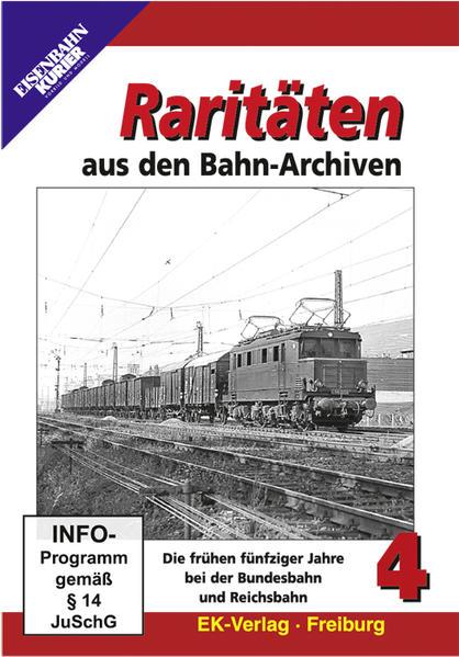 Raritäten aus den Bahn-Archiven - Coverbild