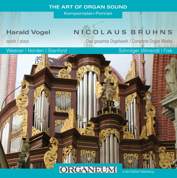 Harald Vogel spielt Nicolaus Bruhns - Coverbild