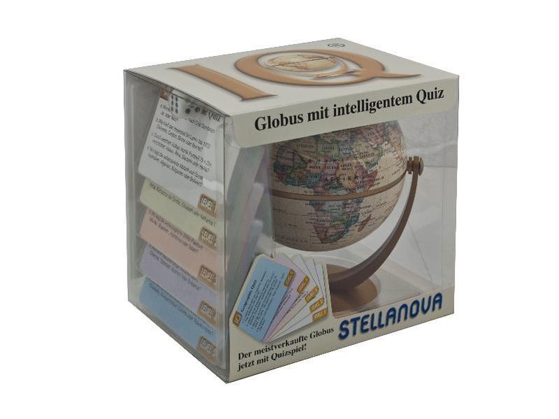 10 cm IQ-Quiz Spiele Dreh-Schwenk-Globus - Coverbild