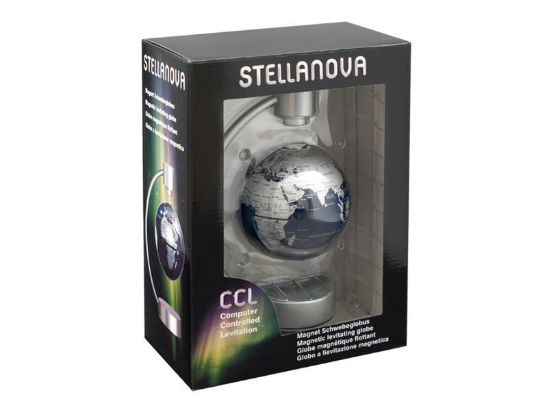 10 cm Magnet-Schwebeglobus, Metall-Bügel - Coverbild