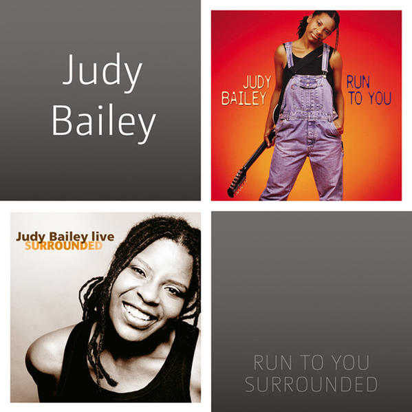 DCD Judy Bailey - Run To You & Surrounded - Coverbild