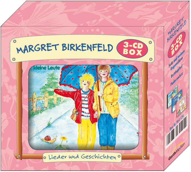 3-CD: Die Margret-Birkenfeld-Box 2 - Coverbild