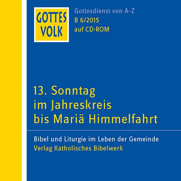 Gottes Volk LJ B6/2015 CD-ROM - Coverbild