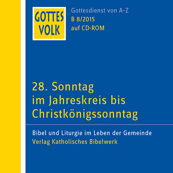 Gottes Volk LJ B8/2015 CD-ROM - Coverbild