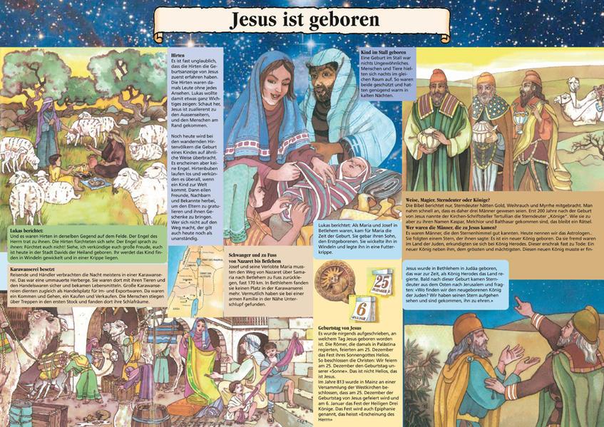 Jesus ist geboren - Coverbild