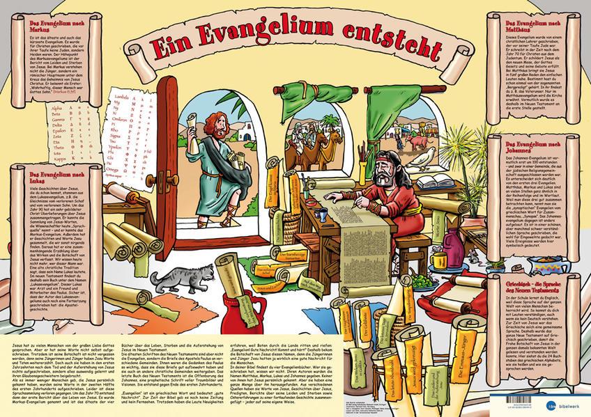 Wie ein Evangelium entsteht - Plakat - Coverbild