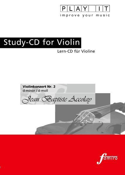 Violinenkonzert Nr. 2, d-moll - Coverbild