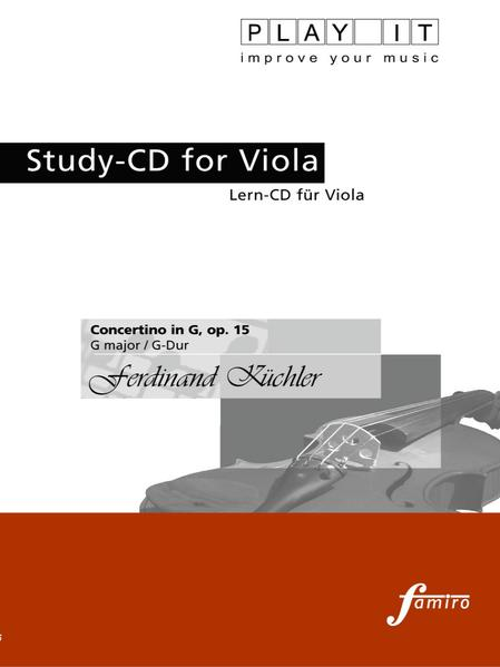 Concertino in G, op. 11 - Coverbild