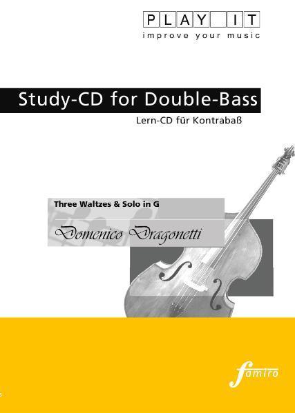 Three Waltzes & Solo in G - Coverbild