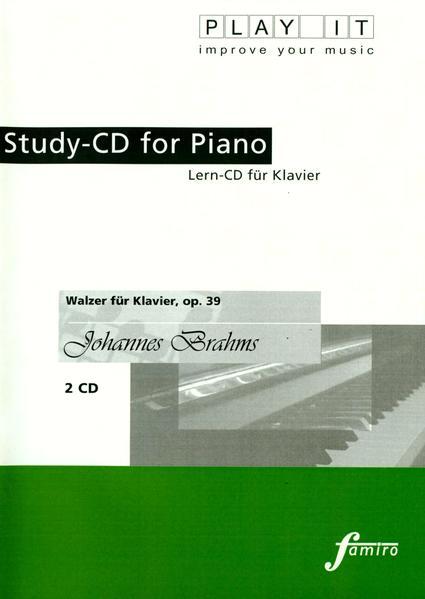 Walzer für Klavier, op. 39 - Coverbild