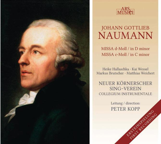 Missa d-Moll - Missa c-Moll - Coverbild