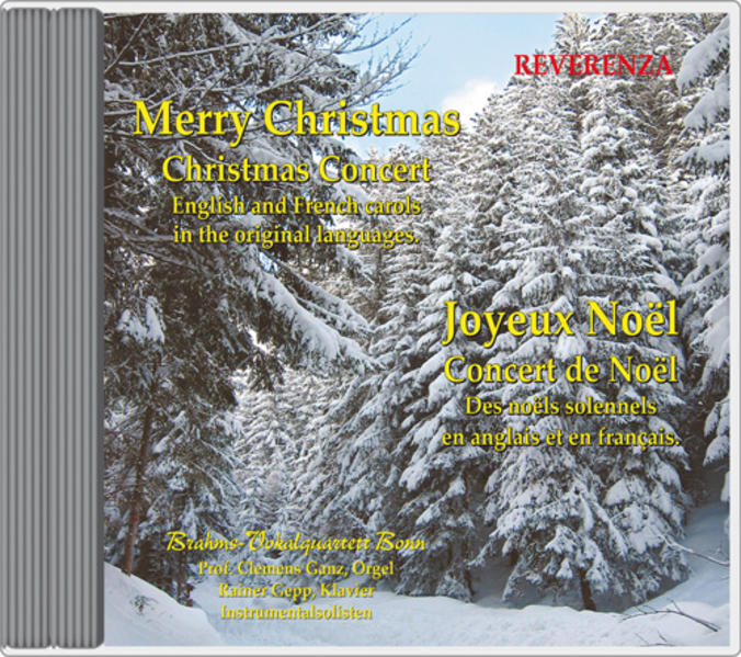Merry Christmas - Joyeux Noël - Coverbild