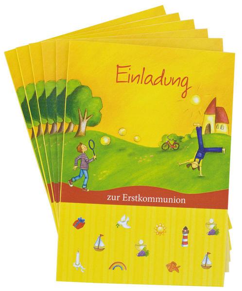 Einladung zur Erstkommunion - Coverbild