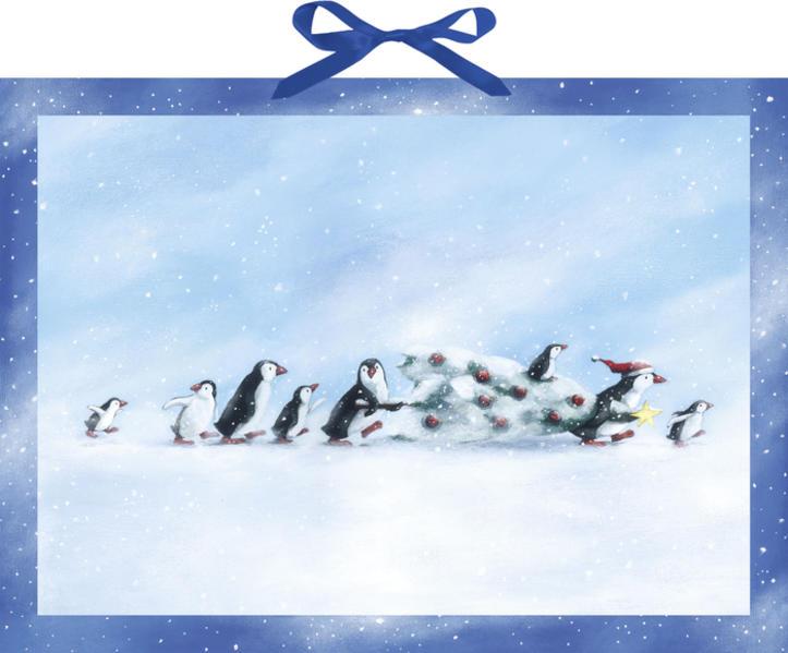 Familie Pinguin und der Weihnachtsbaum PDF Kostenloser Download