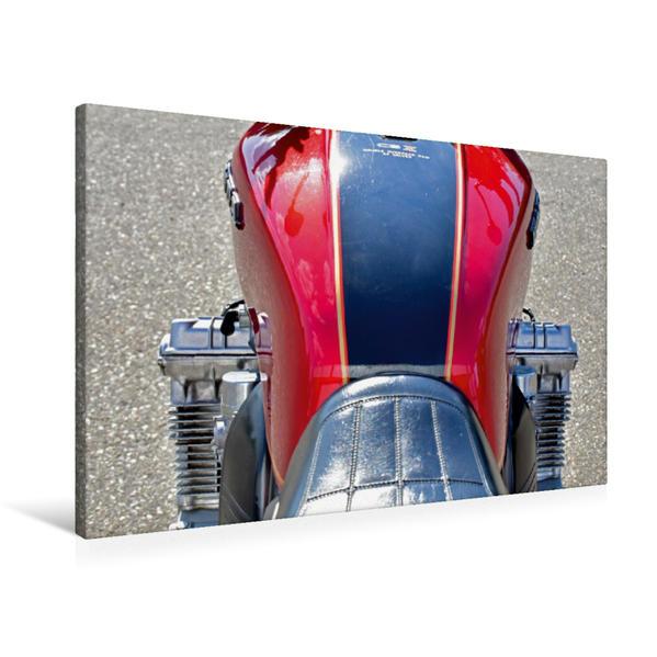 Premium Textil-Leinwand 90 cm x 60 cm quer, Ein Motiv aus dem Kalender Honda CBX 1000 | Wandbild, Bild auf Keilrahmen, Fertigbild auf echter Leinwand, Leinwanddruck - Coverbild