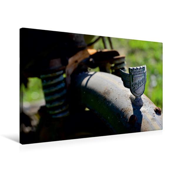 Premium Textil-Leinwand 75 cm x 50 cm quer, Ein Motiv aus dem Kalender Rixe - völlig fertig | Wandbild, Bild auf Keilrahmen, Fertigbild auf echter Leinwand, Leinwanddruck - Coverbild