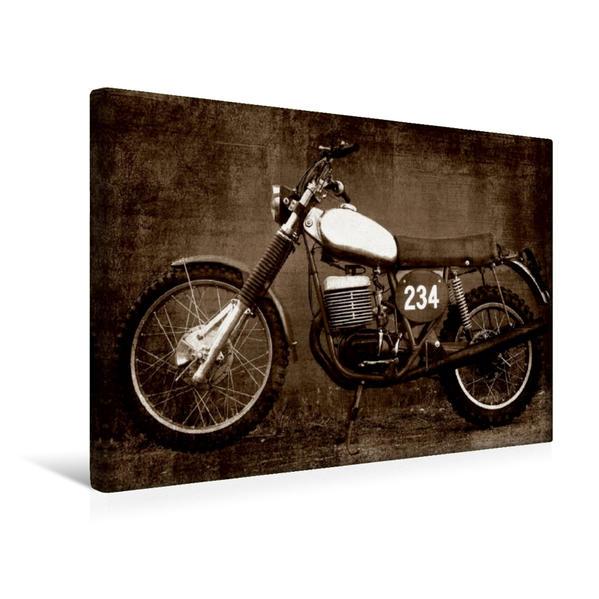 Premium Textil-Leinwand 45 cm x 30 cm quer, Maico GS 501 | Wandbild, Bild auf Keilrahmen, Fertigbild auf echter Leinwand, Leinwanddruck - Coverbild