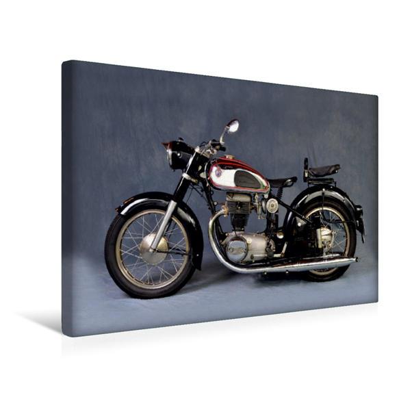Premium Textil-Leinwand 45 cm x 30 cm quer, Ein Motiv aus dem Kalender Horex Regina | Wandbild, Bild auf Keilrahmen, Fertigbild auf echter Leinwand, Leinwanddruck - Coverbild