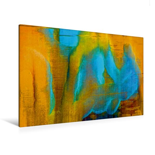 Premium Textil-Leinwand 120 cm x 80 cm quer, Ein Motiv aus dem Kalender Abstraktes Holzdesign   Wandbild, Bild auf Keilrahmen, Fertigbild auf echter Leinwand, Leinwanddruck - Coverbild