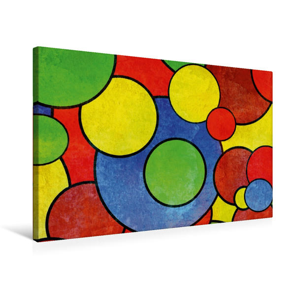 Premium Textil-Leinwand 75 cm x 50 cm quer, Ein Motiv aus dem Kalender Digital Art | Wandbild, Bild auf Keilrahmen, Fertigbild auf echter Leinwand, Leinwanddruck - Coverbild
