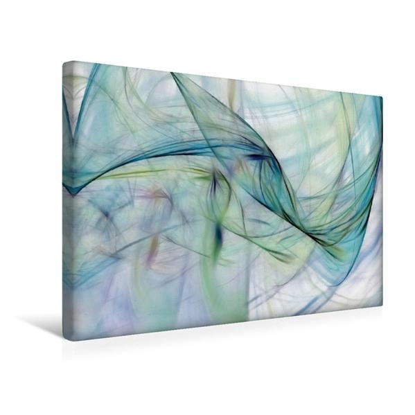 Premium Textil-Leinwand 45 cm x 30 cm quer, Ein Motiv aus dem Kalender Fraktale Kunst | Wandbild, Bild auf Keilrahmen, Fertigbild auf echter Leinwand, Leinwanddruck - Coverbild