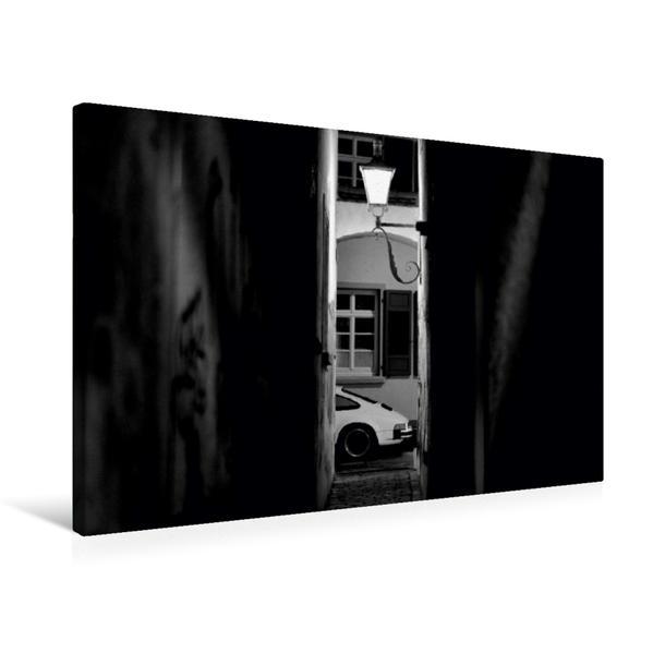 Premium Textil-Leinwand 75 cm x 50 cm quer, Ein Motiv aus dem Kalender Porsche 911 SC | Wandbild, Bild auf Keilrahmen, Fertigbild auf echter Leinwand, Leinwanddruck - Coverbild