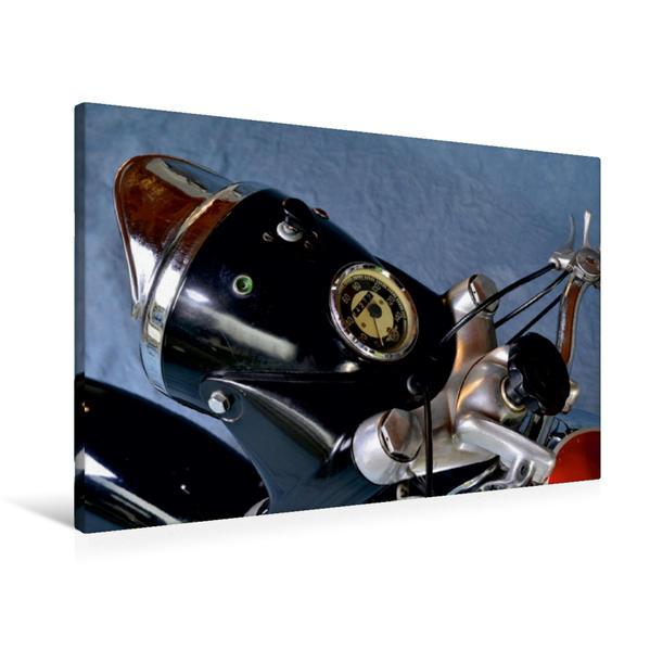 Premium Textil-Leinwand 90 cm x 60 cm quer, Ein Motiv aus dem Kalender Horex Regina | Wandbild, Bild auf Keilrahmen, Fertigbild auf echter Leinwand, Leinwanddruck - Coverbild