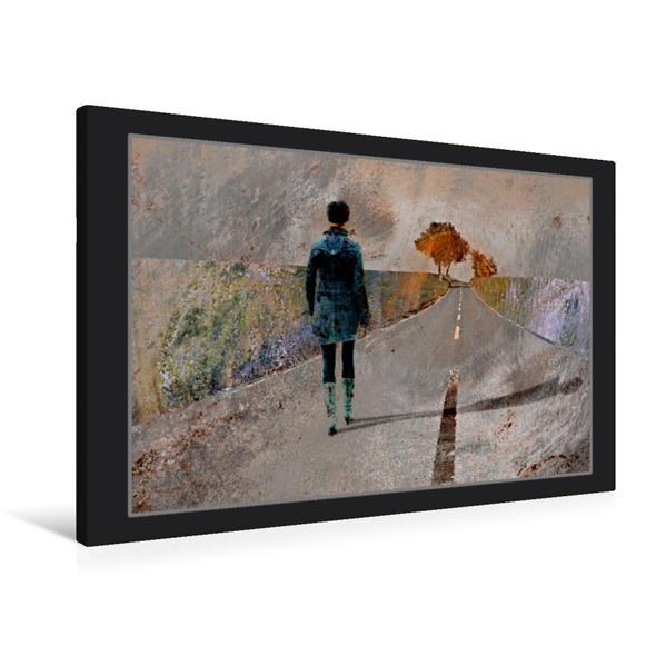 Premium Textil-Leinwand 90 cm x 60 cm quer, Ein Motiv aus dem Kalender Phantastischer Realismus | Wandbild, Bild auf Keilrahmen, Fertigbild auf echter Leinwand, Leinwanddruck - Coverbild