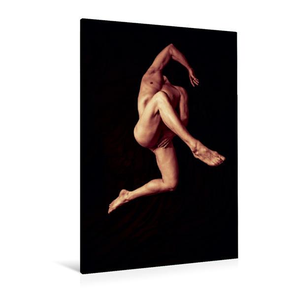Premium Textil-Leinwand 80 cm x 120 cm  hoch, Ein Motiv aus dem Kalender KÖRPER - SINNLICHE MÄNNERAKTE | Wandbild, Bild auf Keilrahmen, Fertigbild auf echter Leinwand, Leinwanddruck - Coverbild